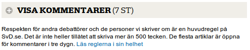 svd.se disqus-bar