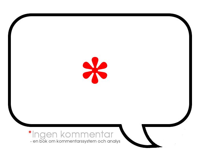 logo för Ingen kommentar
