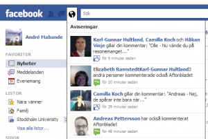 Aftonbladets Facebook comments pingback på FB
